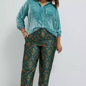 Sale! Maeve Melyssa jacquard Trousers